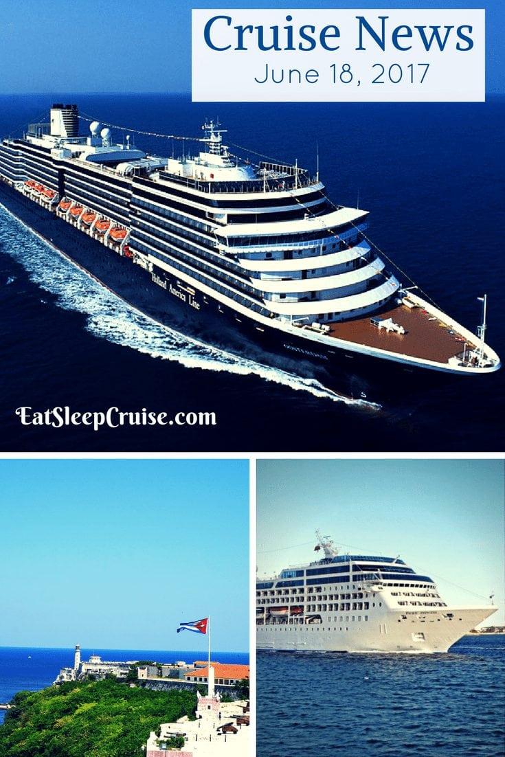 Cruise News June 18, 2017
