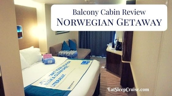 Norwegian Getaway Balcony Cabin Review
