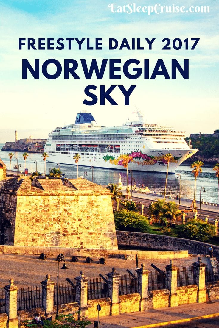 Norwegian Sky Freestyle Daily 2017