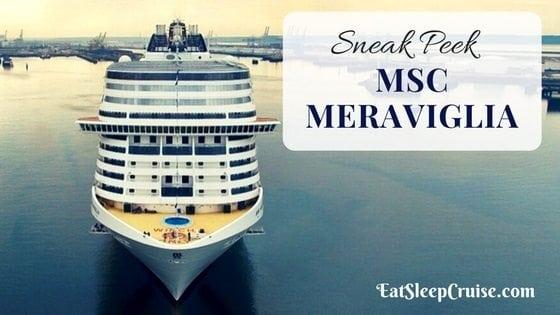 Sneak Peek Inside MSC Meraviglia