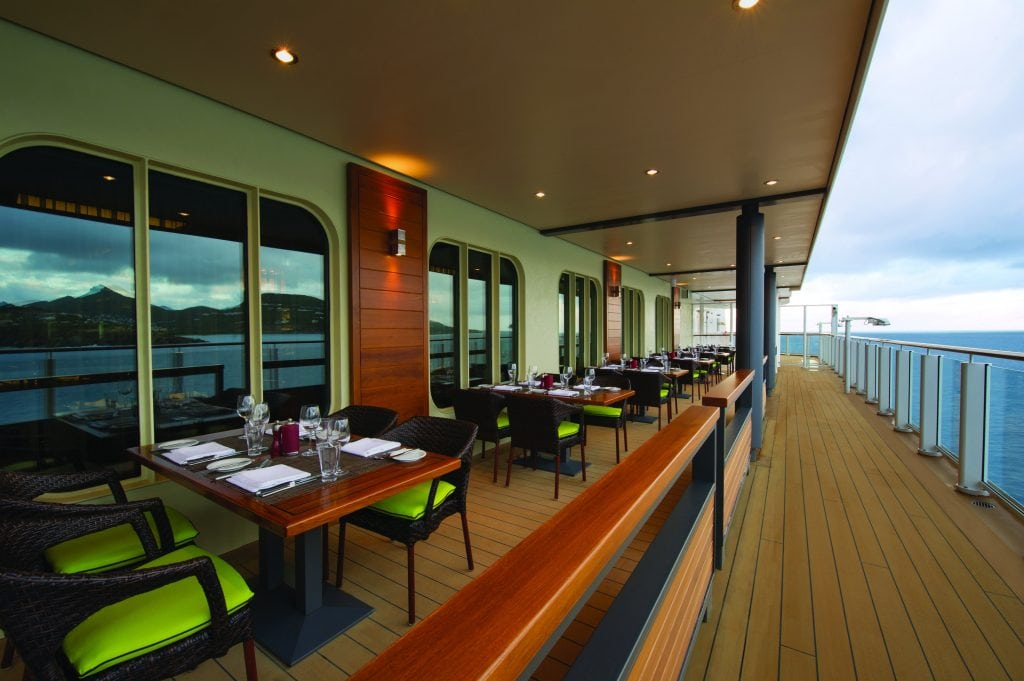 Cageny's Steakhouse on Norwegian Getaway