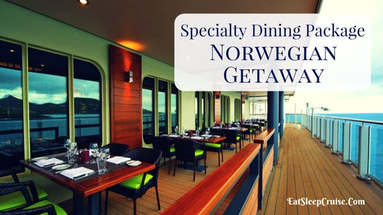 Norwegian Getaway Dining Package