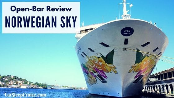 Our Honest Norwegian Sky Open Bar Review 2017