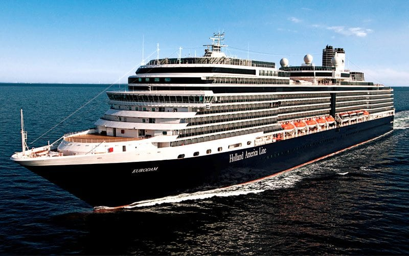 Holland America Eurodam Cruise News July 23, 2017