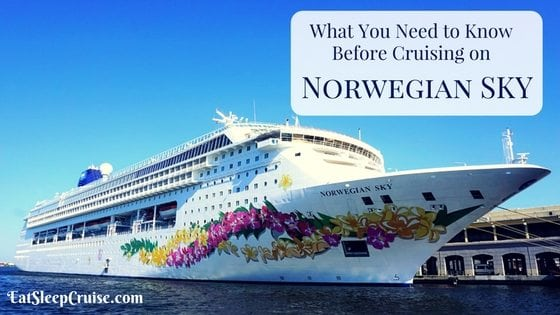 10 Things to Know Before Cruising on Norwegian Sky