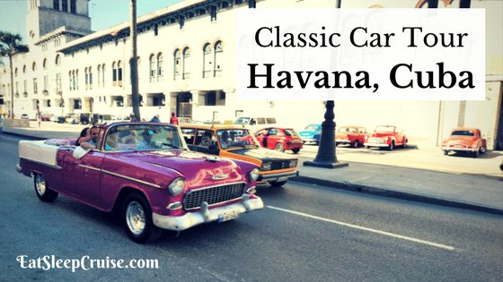 Classic Car Tour of Havana, Cuba