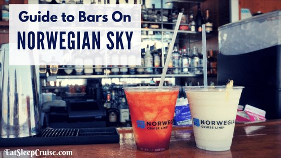 Complete Guide to Norwegian Sky Bars