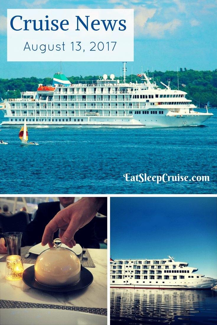 Cruise News August 13, 2017