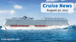 Cruise News August 20 2017