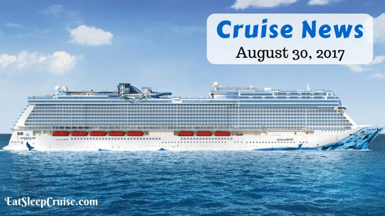 Cruise News August 20 2017