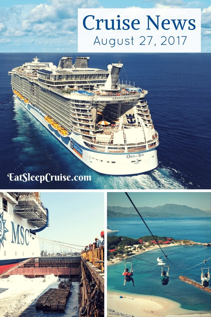 Cruise News August 27, 2017