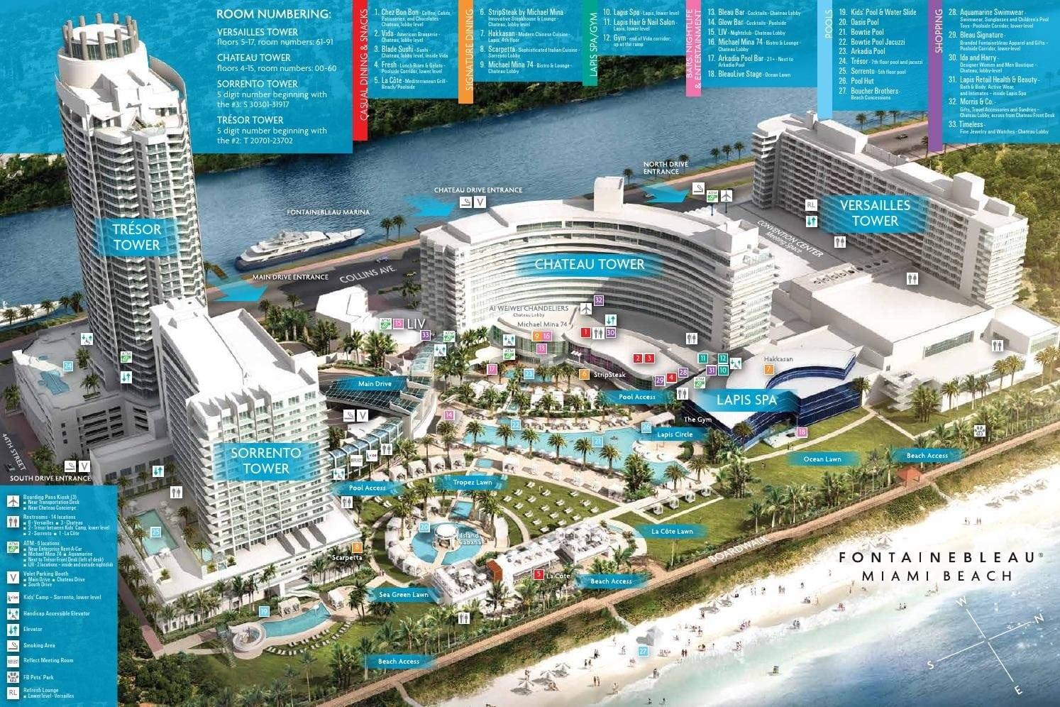 Fontainebleau Hotel Review Miami Fl Eatsleepcruise Com