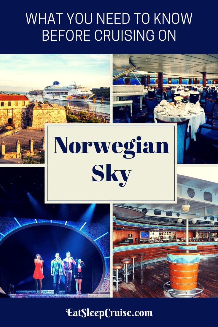 What You Need to Know Before Cruising on Norwegian Sky