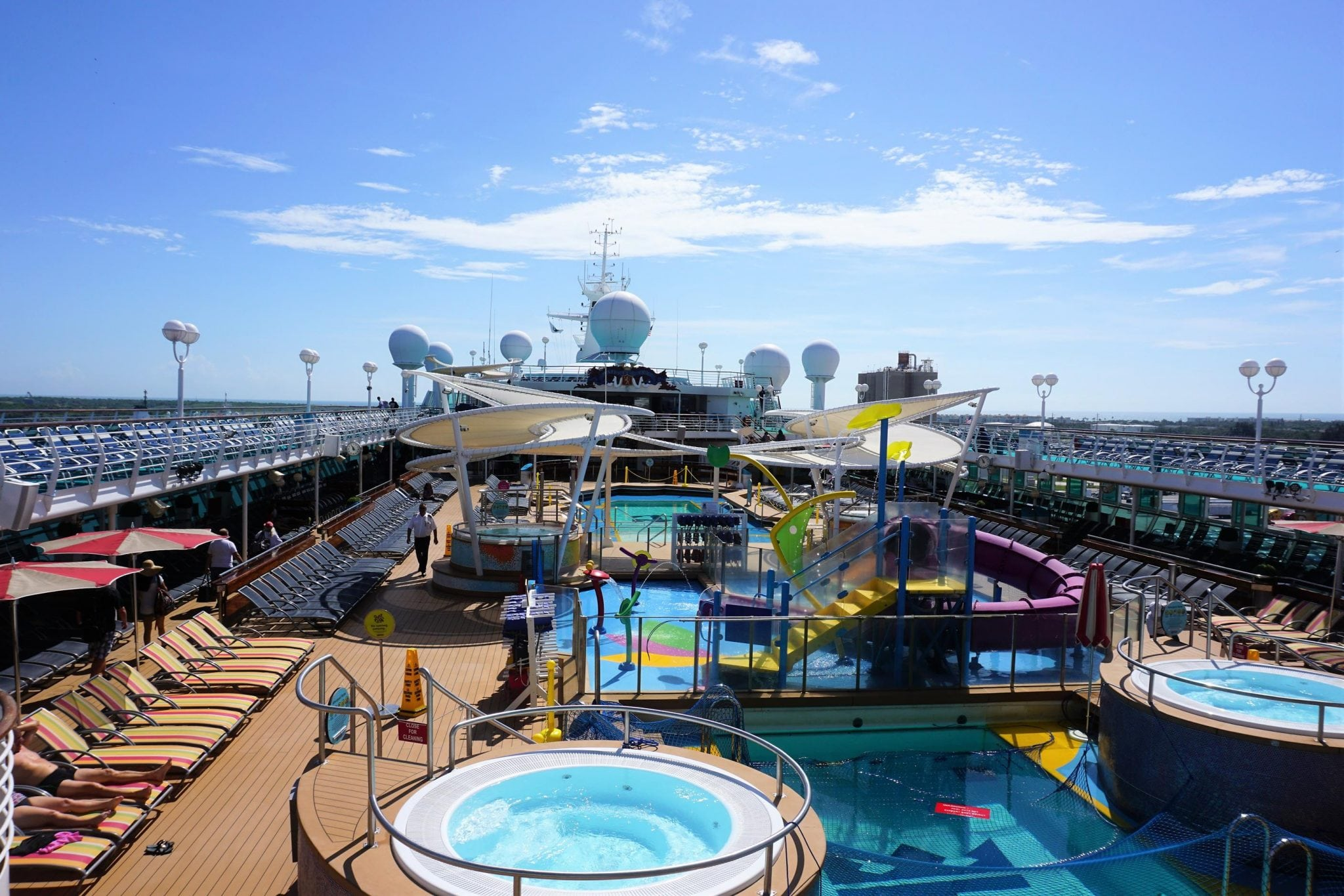 Majesty of the Seas Pool Deck