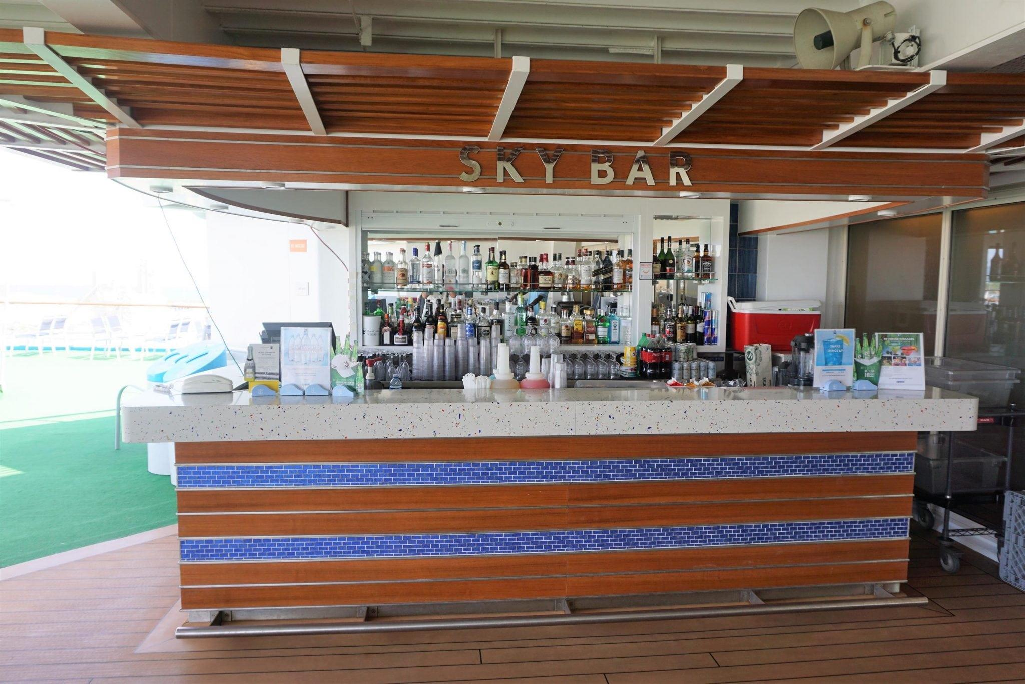 Sky Bar on Majesty of the Seas