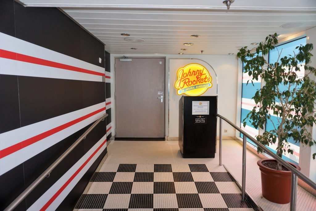 Majesty of the Seas Johnny Rockets Review