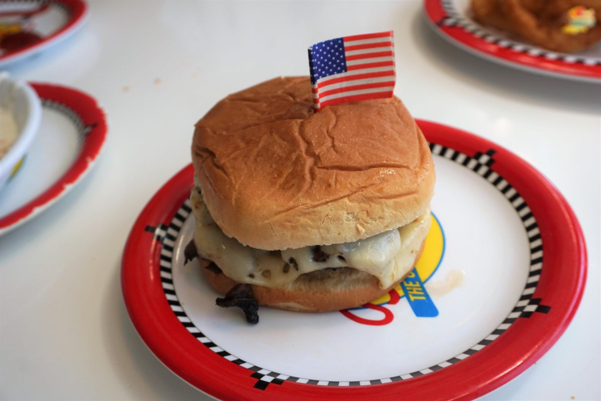Double Burger at Johnny Rockets on Majesty of the Seas