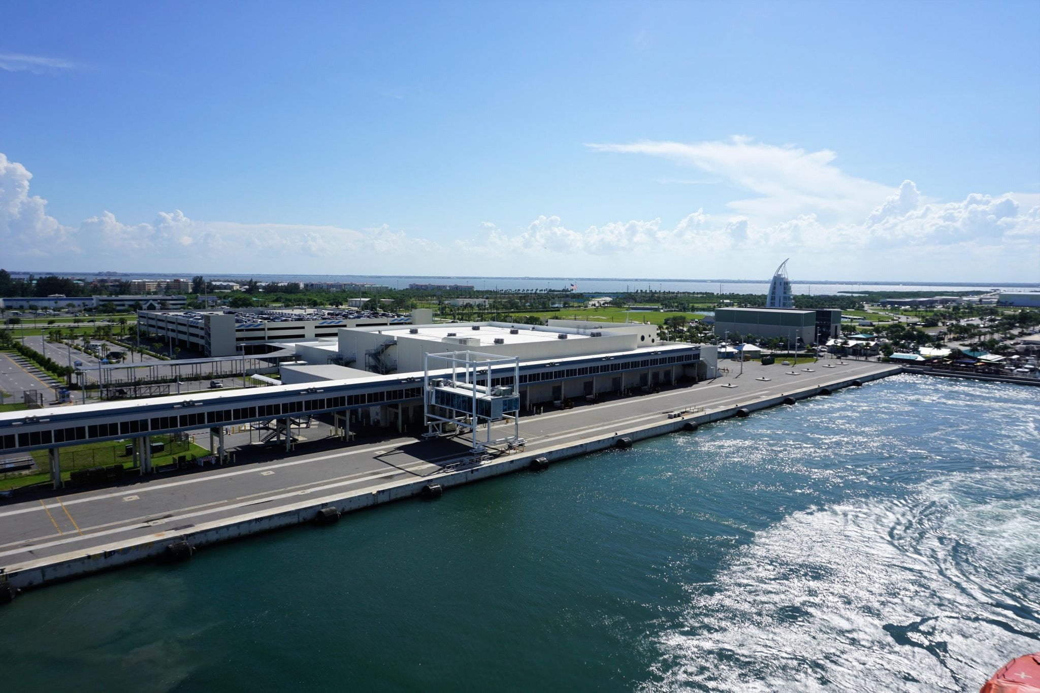 Port Canaveral Terminal and Parking