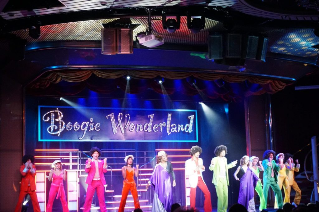 Boogie Wonderland Majesty of the Seas