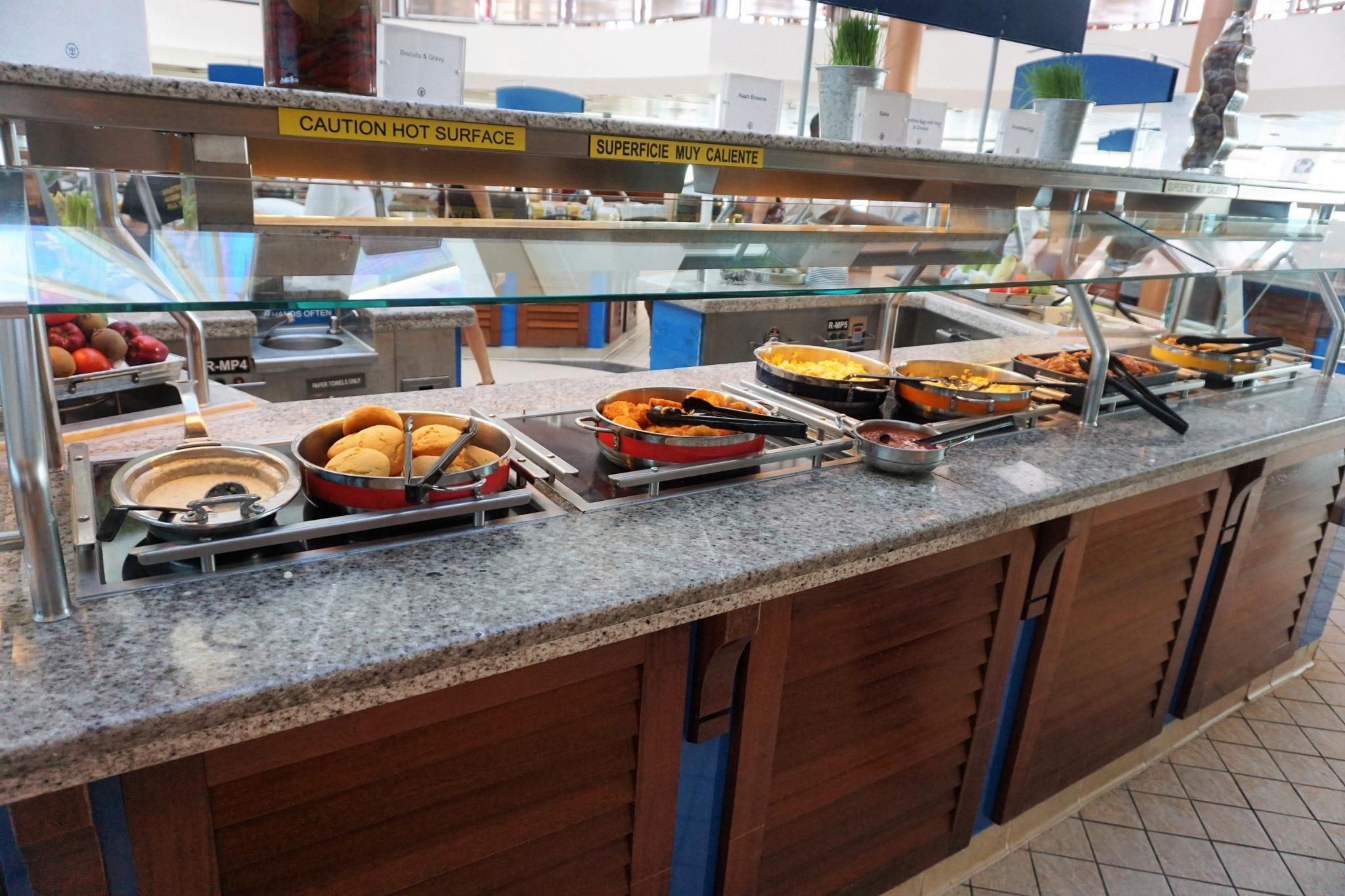 Majesty of the Seas Breakfast