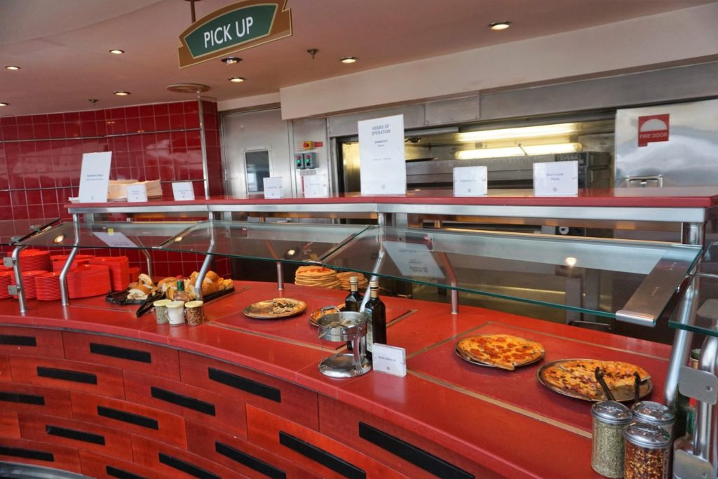 Sorrento's Pizza on Majesty of the Seas