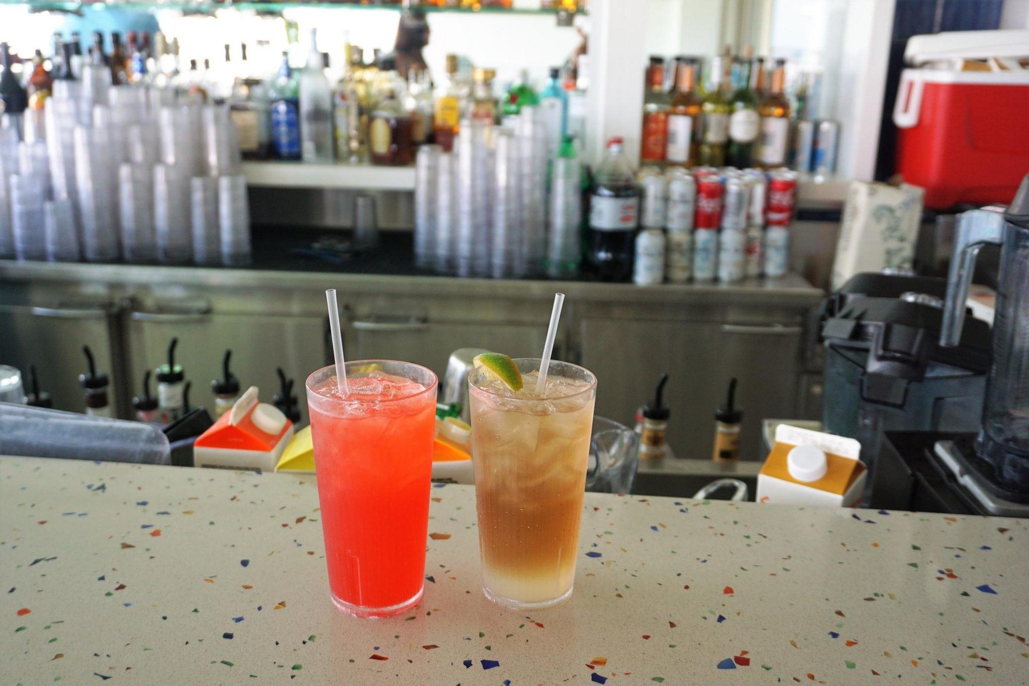 Sky Bar Drinks Majsty of the Seas