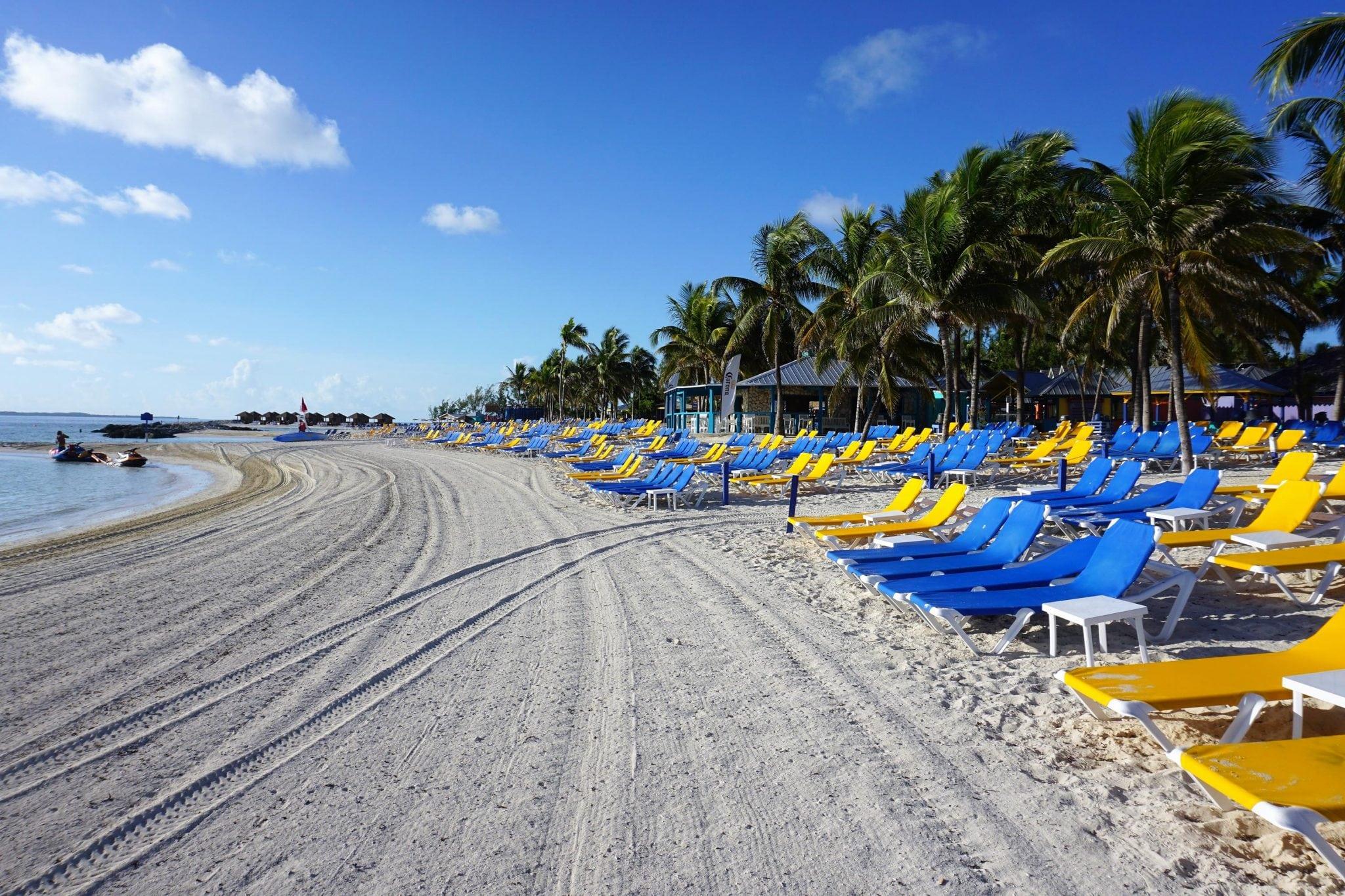 BEach on CocoCay, Bahamas