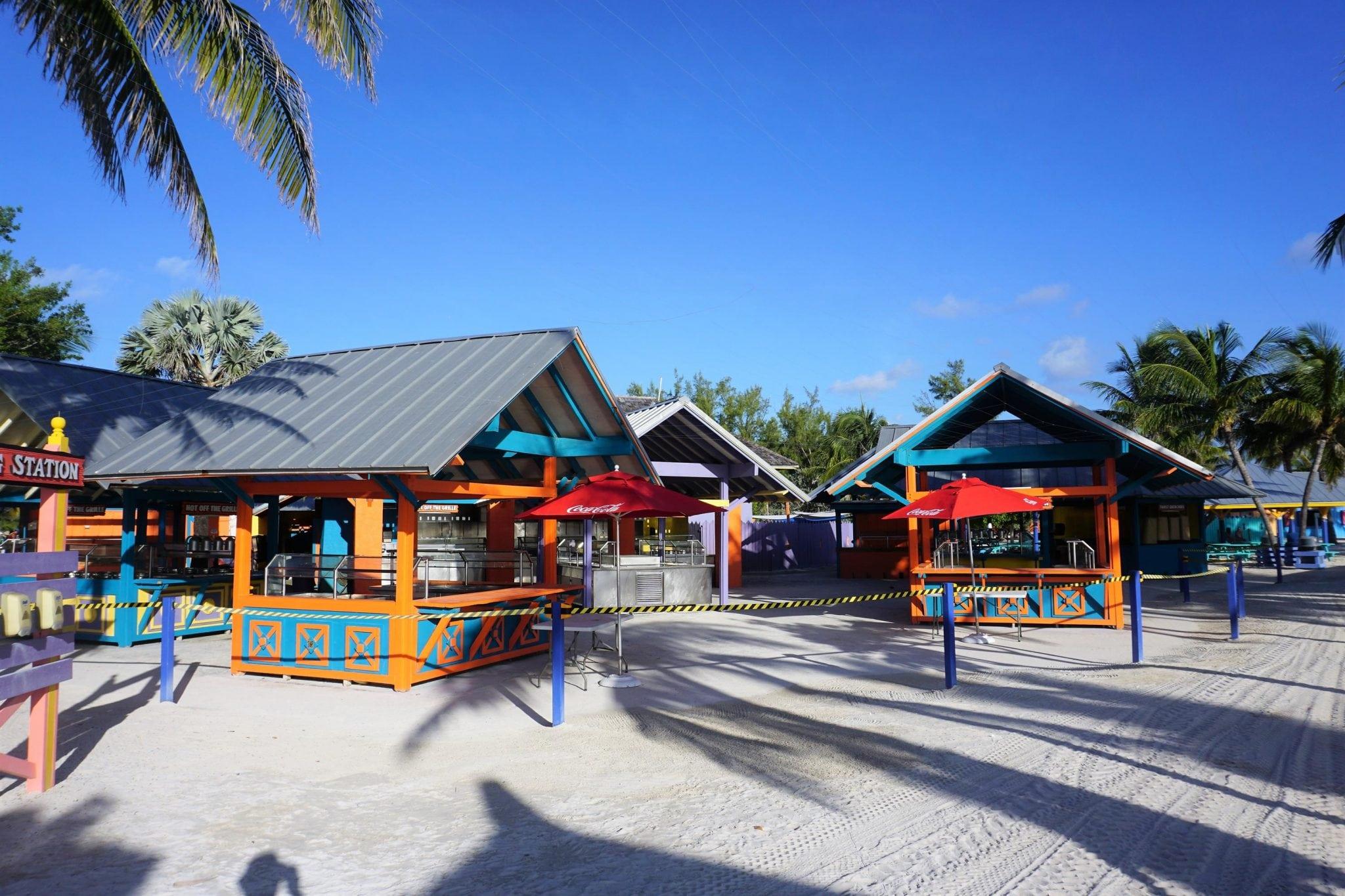 Restaurants on CocoCay, Bahamas