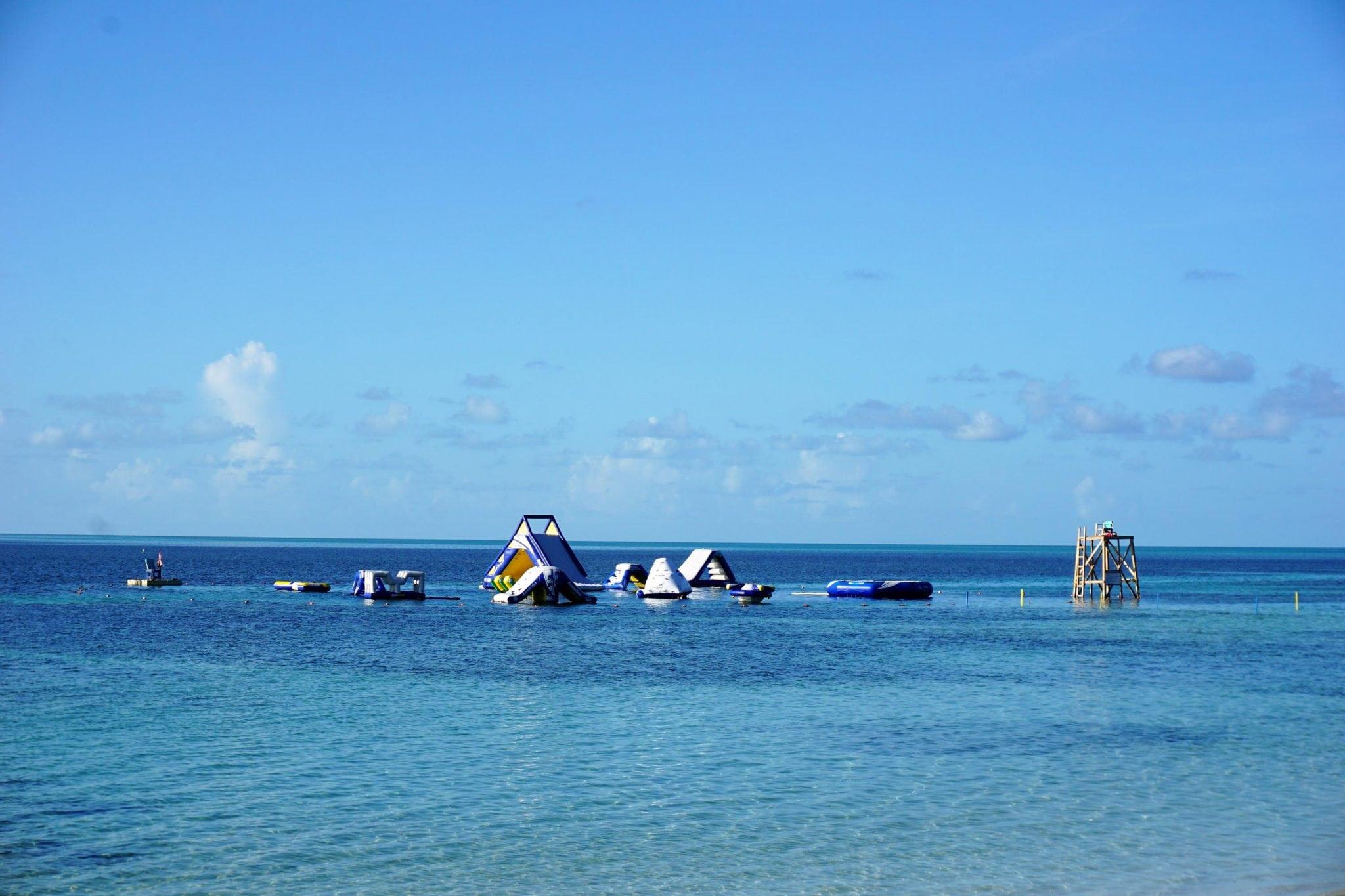Aqua Park on CocoCay, Bahamas