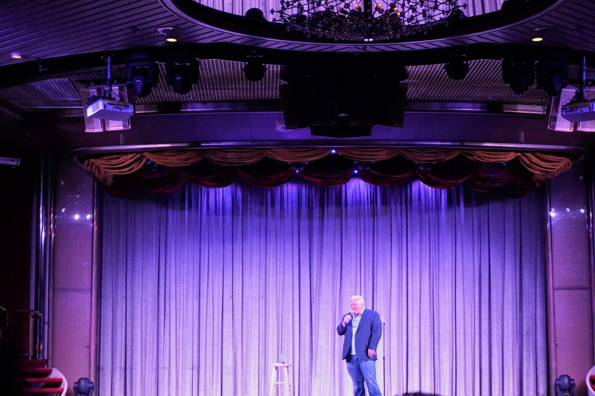 Comedian on Majesty of the Seas