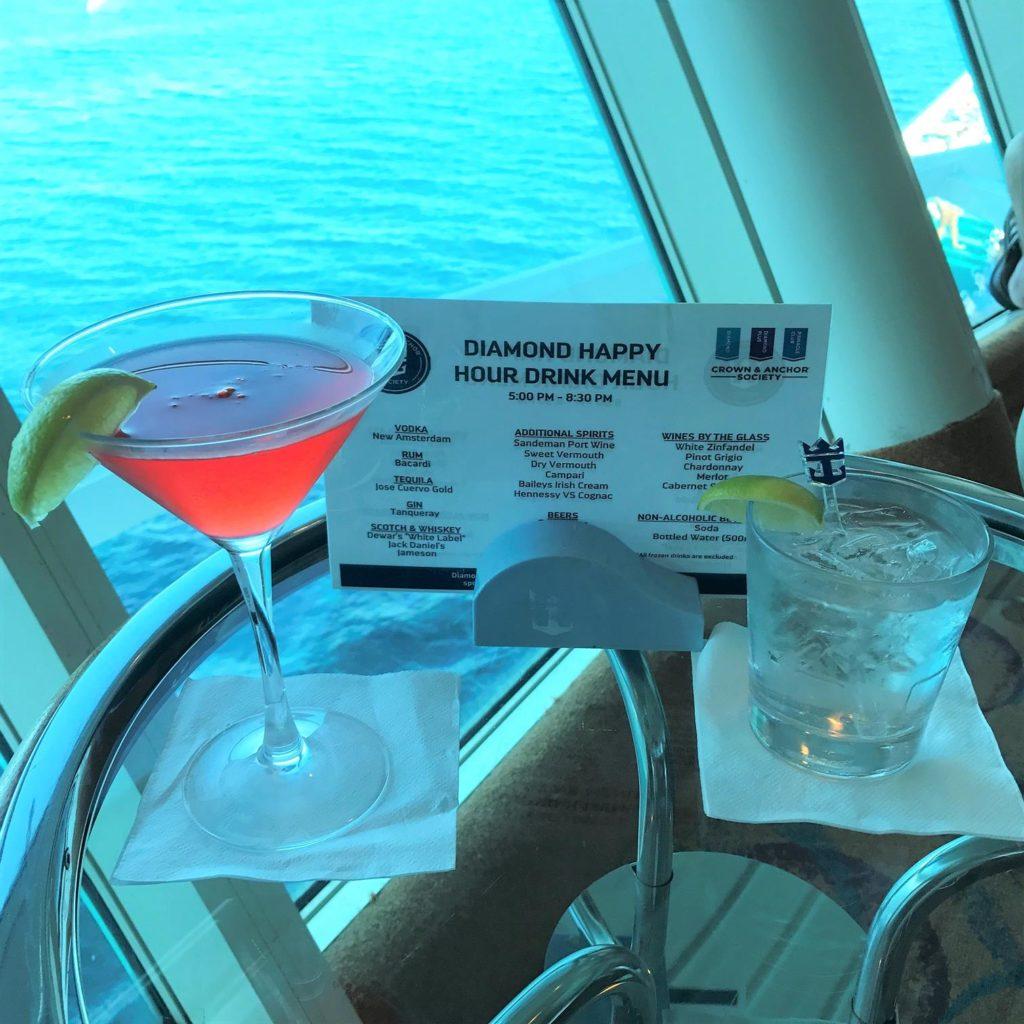 Diamond Lounge Drinks