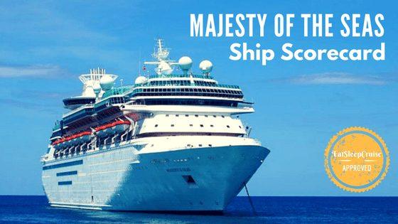 Royal Caribbean Majesty of the Seas Scorecard