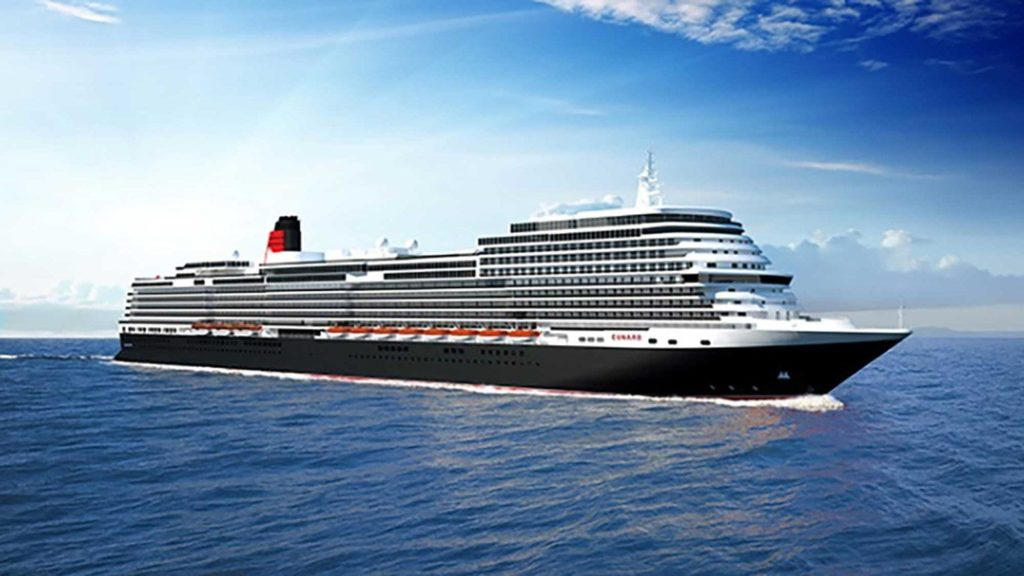 Cunard Cruise Line New Build Cruise News October 1, 2017