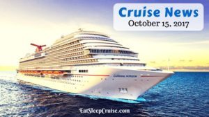 Cruise News October 15, 2017