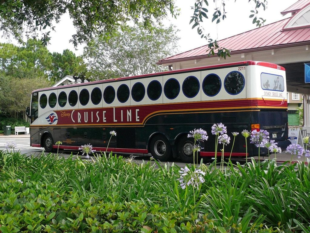 Disney Cruise Line Motorcoach