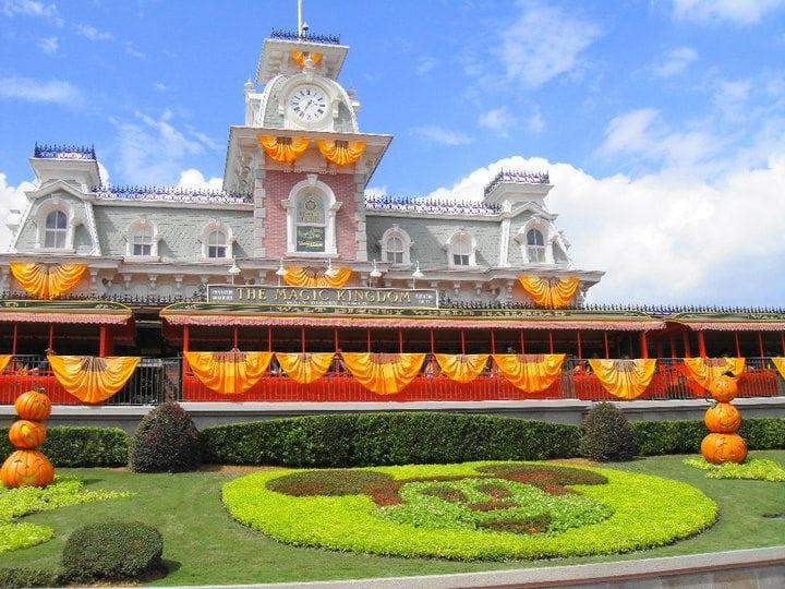 Entrance to Magic Kingdom