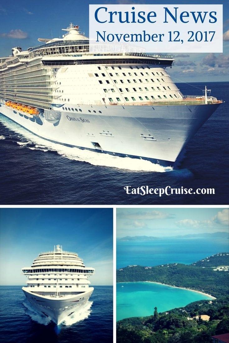 Cruise News November 12, 2017
