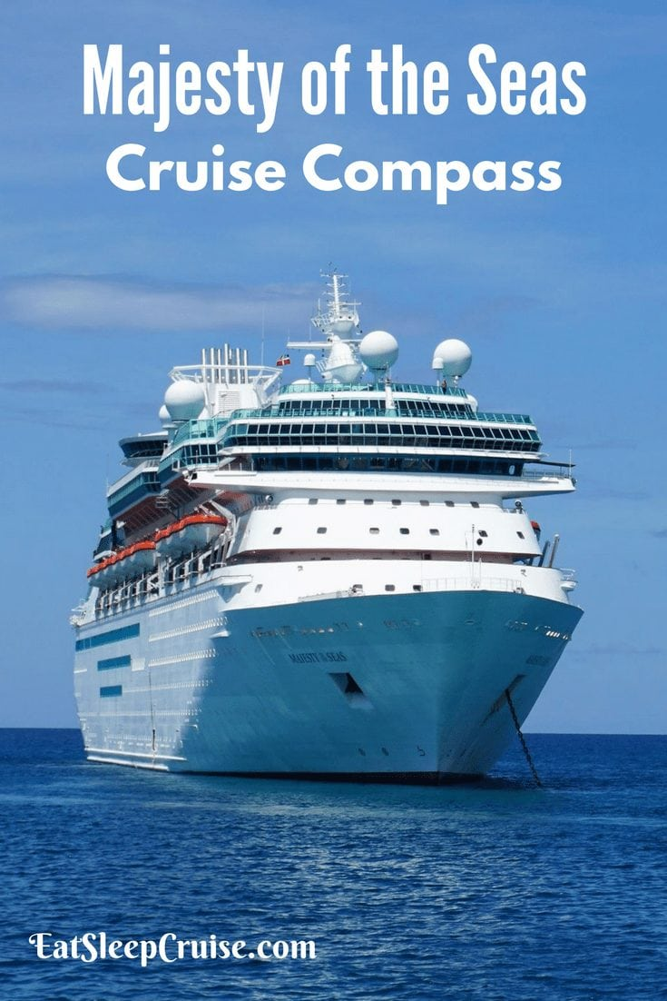Majesty of the Seas Cruise Compass