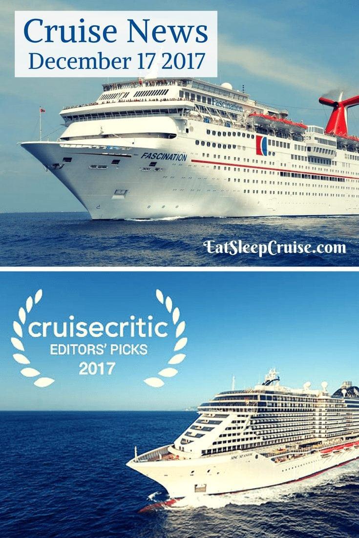Cruise News December 17, 2017