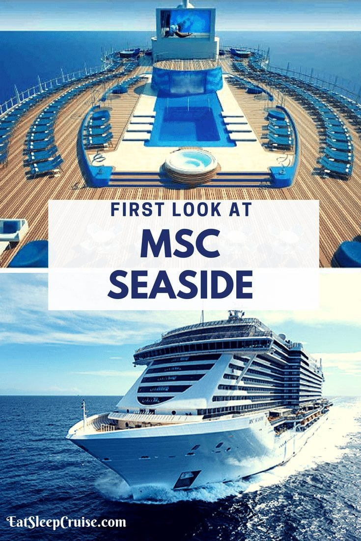 First Look at MSC Seaside