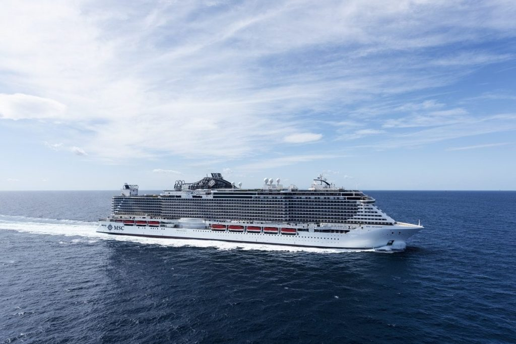 MSC Seaside Has Resumed Cruising in the Mediterranean