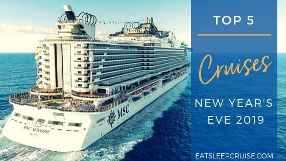 Top Cruises for New Year's Eve 2019