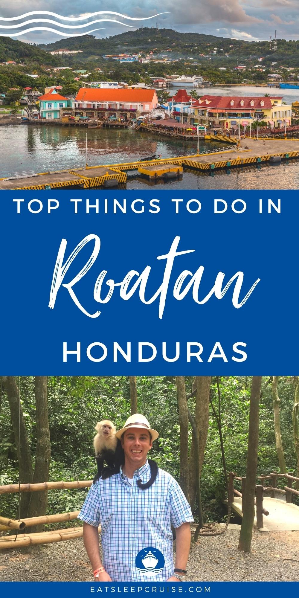 top things to do in Roatan, Honduras on a Cruise