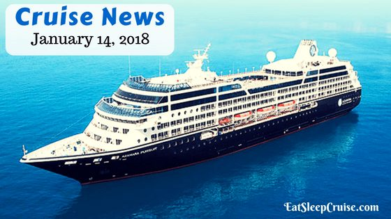 Cruise News January 14, 2018