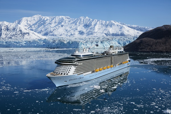 Ovation of the Seas in Alaska