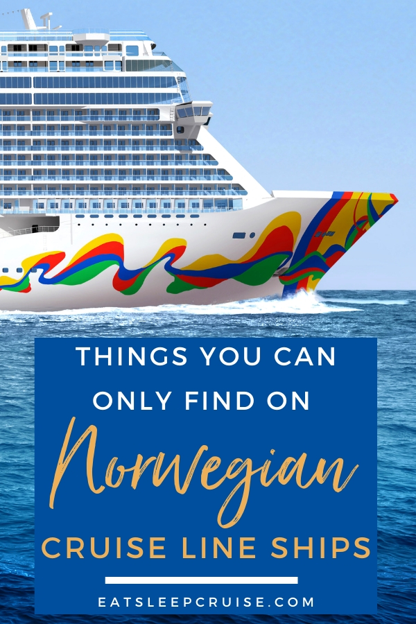 Top Things You Can Only Find on Norwegian Cruise Line Ships