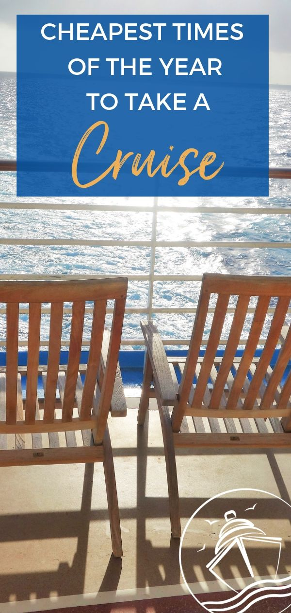 Cheapest Times of the Year to Take a Cruise