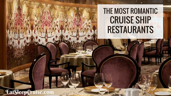 Most Romantic Restaurants at Sea