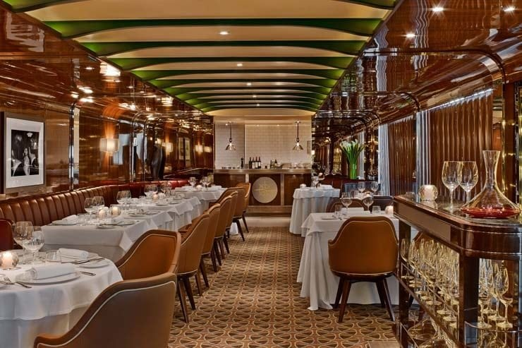 Seaborn Grill Most Romantic Restaurants at Sea