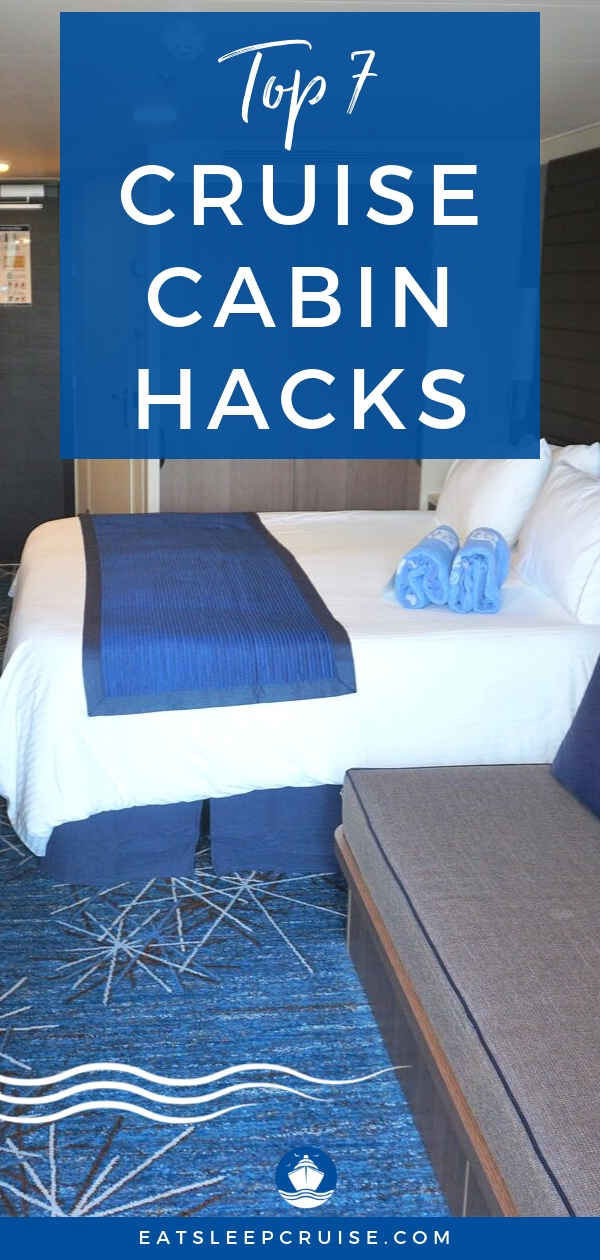 Top 7 Space Saving Hacks for Your Cruise Cabin